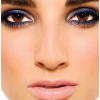 Blue Eyeshadow with Brown Eyes
