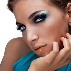 Blue Eyeshadow Smokey Eyes