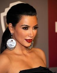 Kim Kardashian Famous Smokey Eye